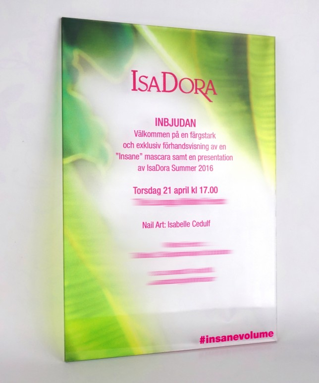 isadora invitation blog event