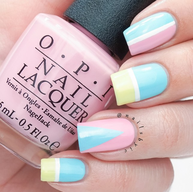 OPI Retro Summer 2016 nail art