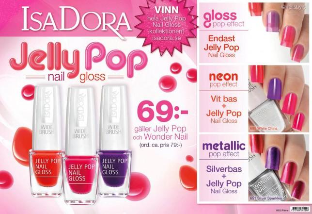 nailsbyic IsaDora Jelly Pop nail gloss