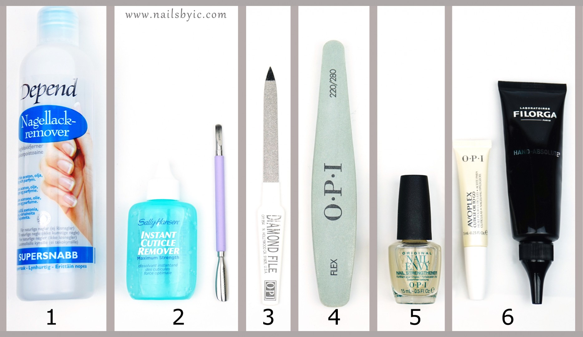 Nail care routine for strong and long nails - Nailsbyic