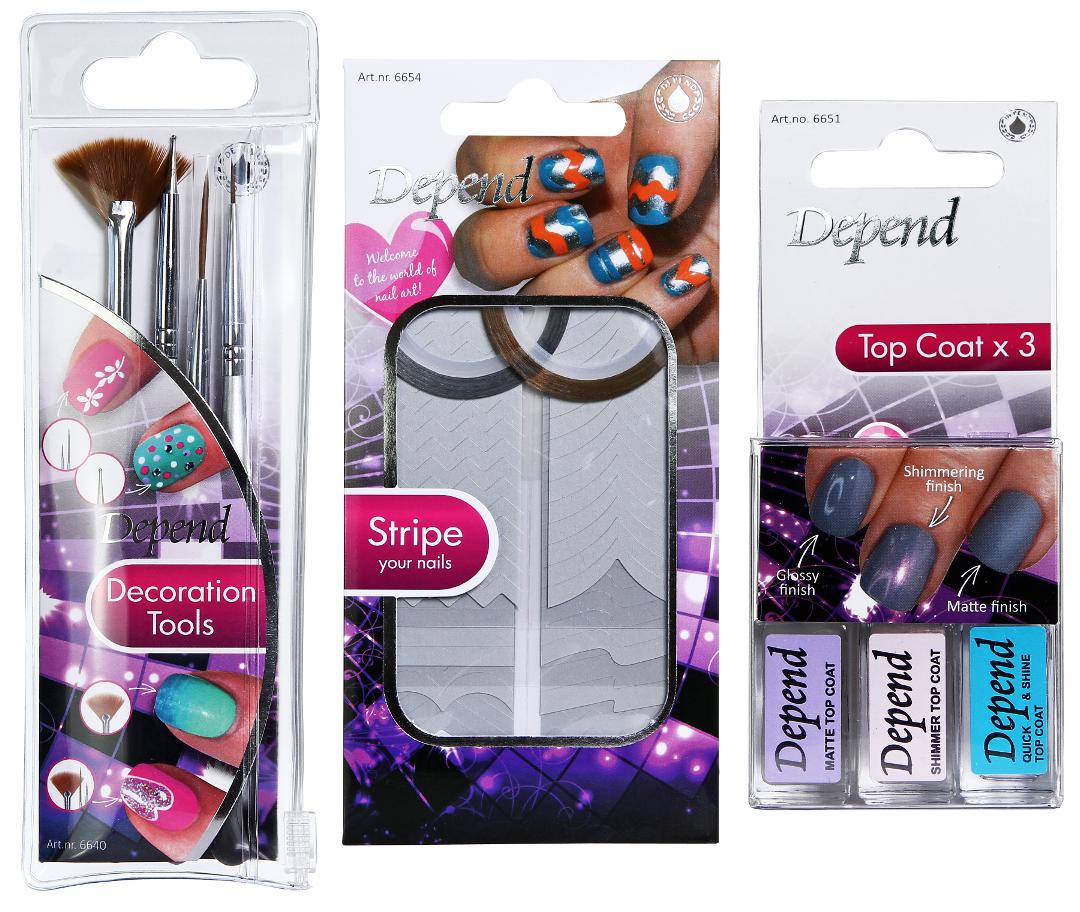 Depend nail art kits review - Nailsbyic