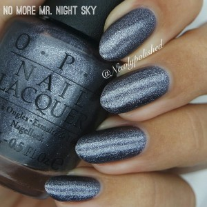 OPI No more mr night sky