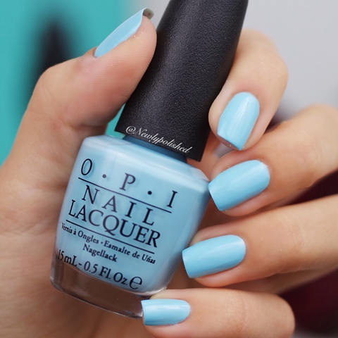 OPI I Believe in Manicures - Breakfast at Tiffany's Collection 2016 Swatch