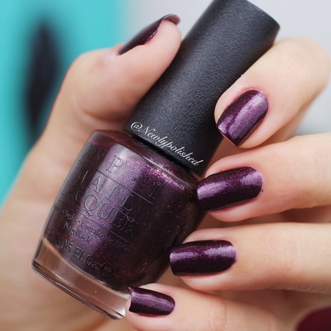 OPI Sunrise... Bedtime! - Breakfast at Tiffany's Holiday Collection 2016 Swatch